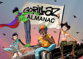 gorillaz comic chile