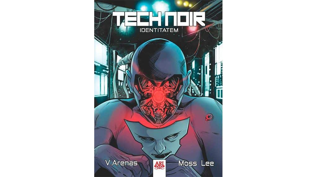 tech noir comic chileno portada