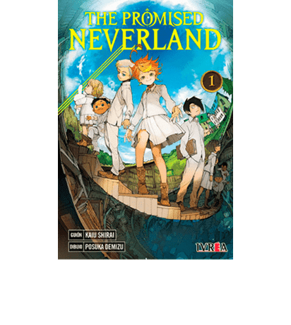manga the promised neverland tomo 1