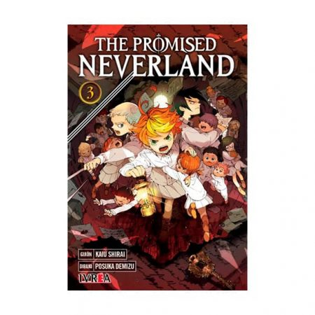 manga the promised neverland tomo 03 tienda en chile