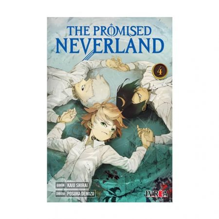 manga the promised neverland tomo 04 tienda en chile